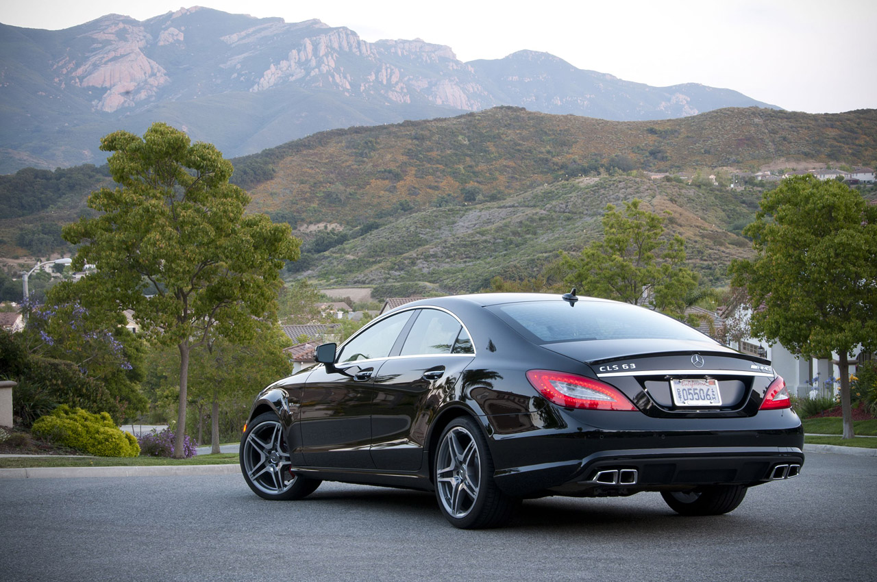 2012 mercedes benz cls63 amg review photo gallery autoblog for Mercedes benz cls 63 amg coupe