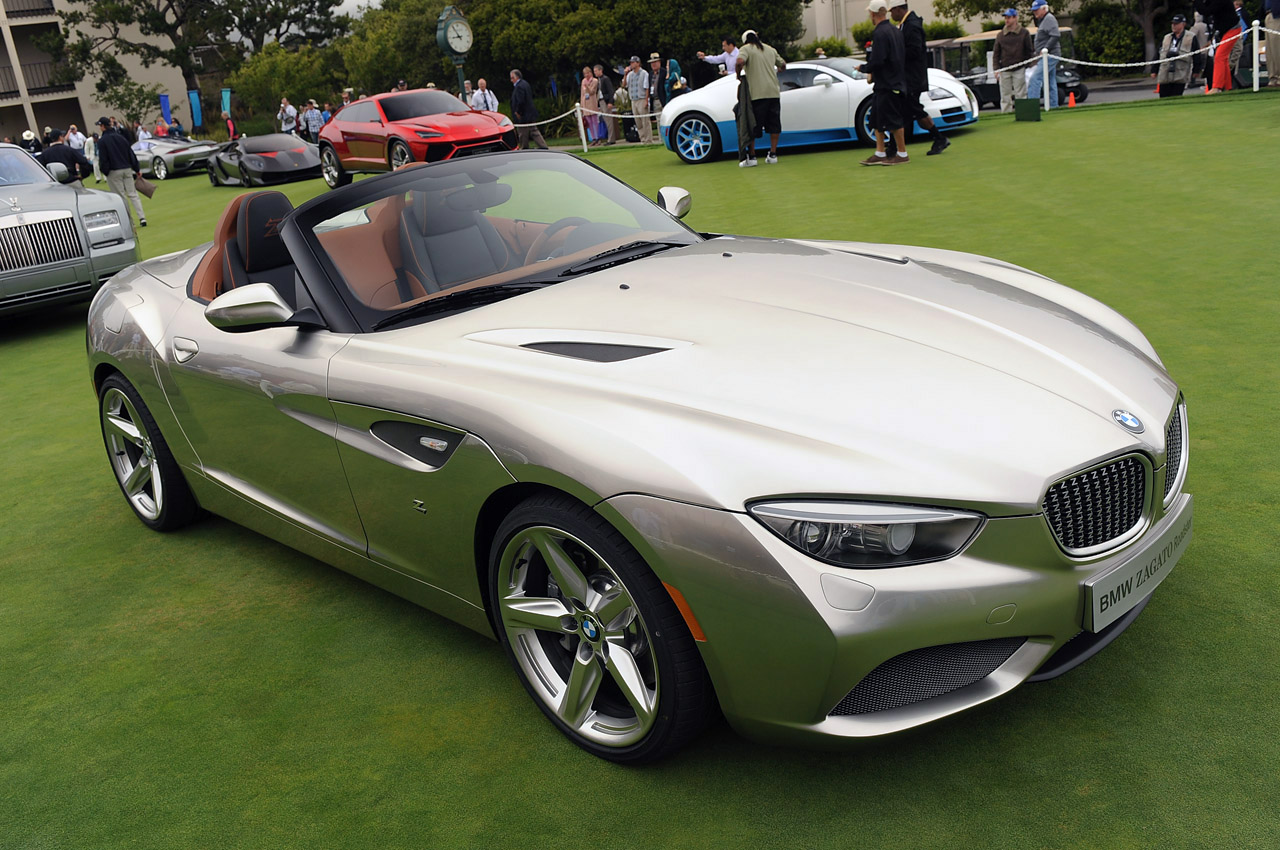 Bmw Zagato Roadster Monterey 2012 Photo Gallery Autoblog