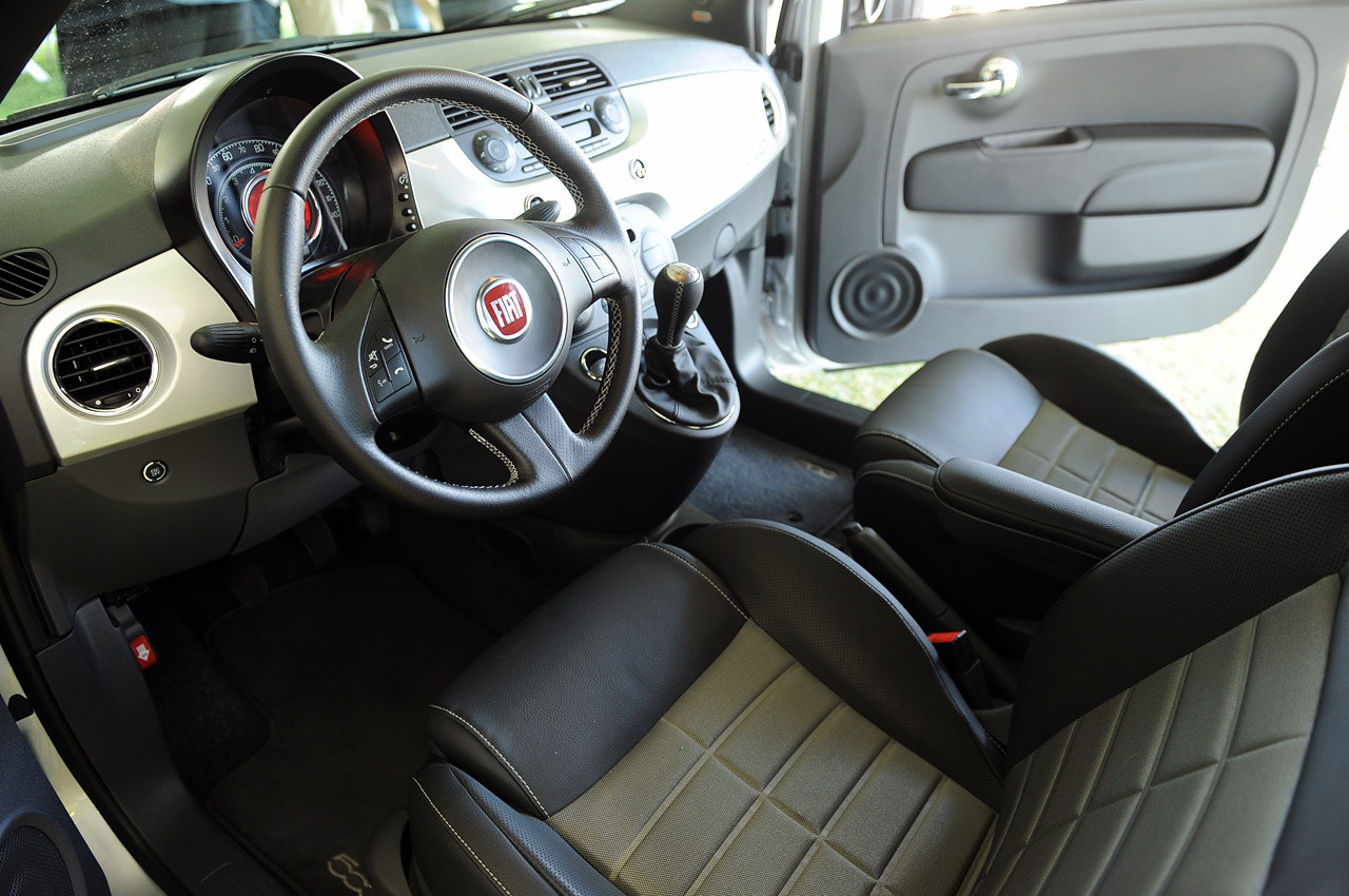 2012 fiat 500 turbo dark cars wallpapers for Interieur fiat 500