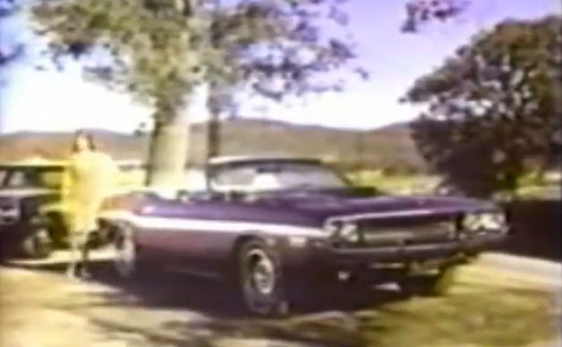 Video: 1970 Dodge Challenger R/T Convertible ad channels Buford T. Justice - Autoblog