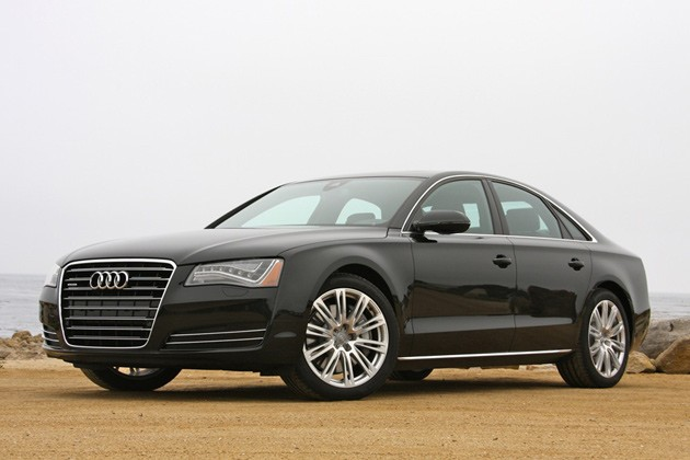2011 Audi A8 - front three-quarter view