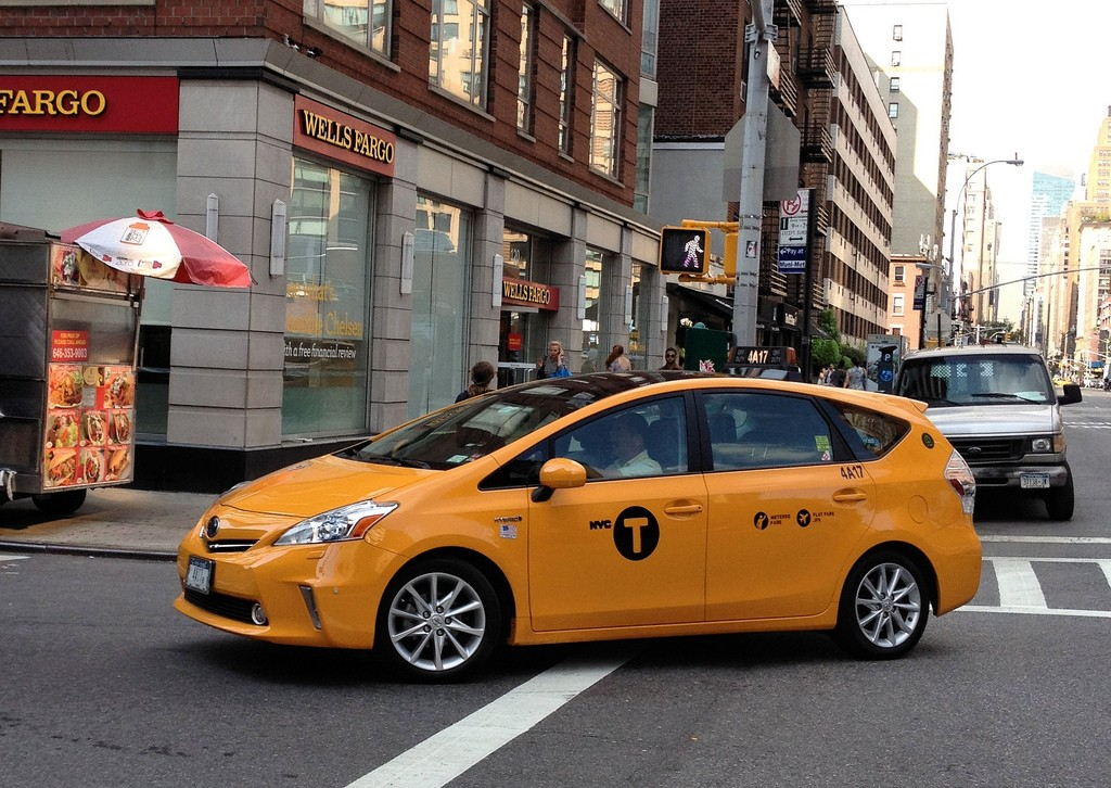 2012 Toyota Prius V New York City Taxi Photo Gallery