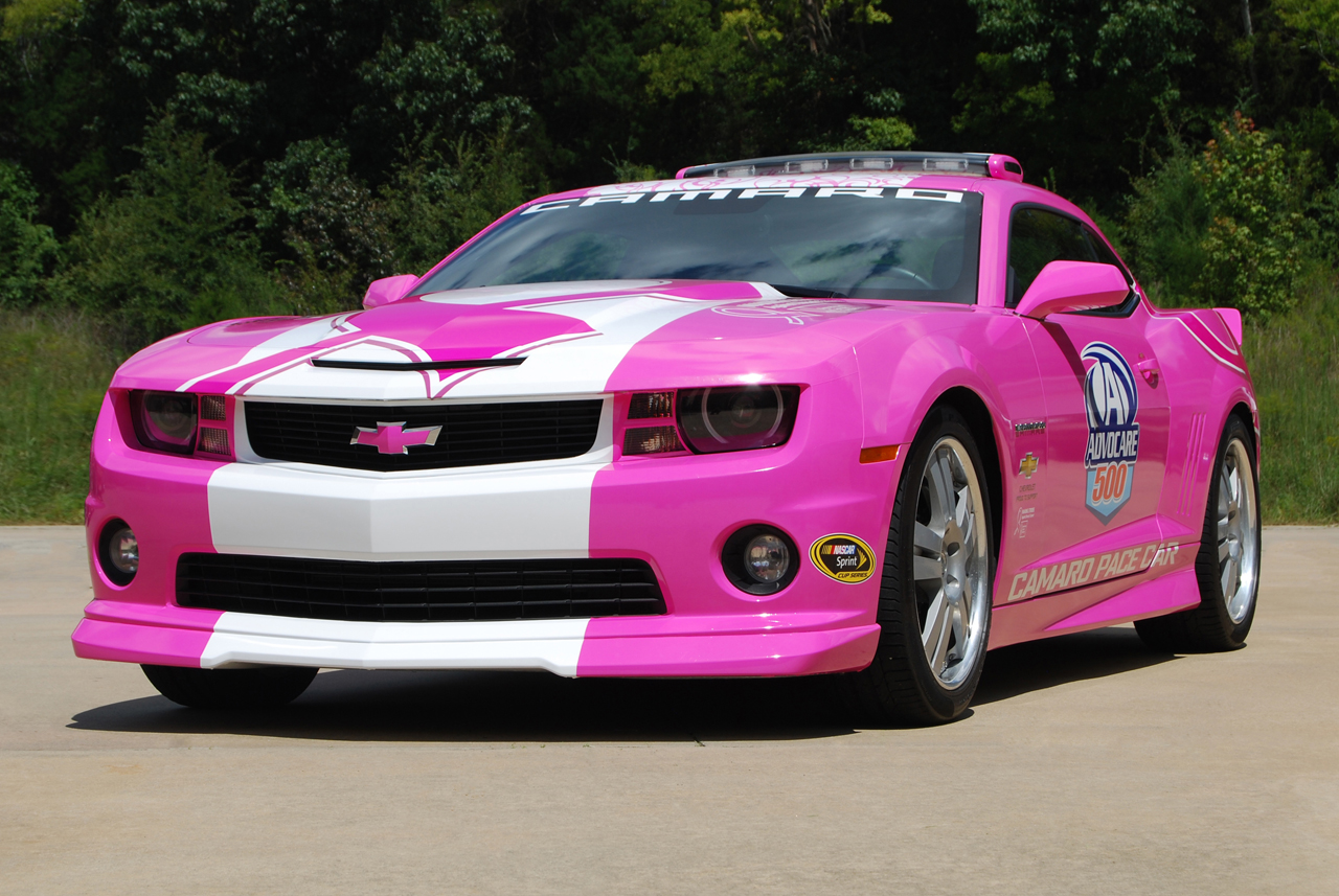 2013 Chevrolet Camaro Breast Cancer Pace Car Photo Gallery