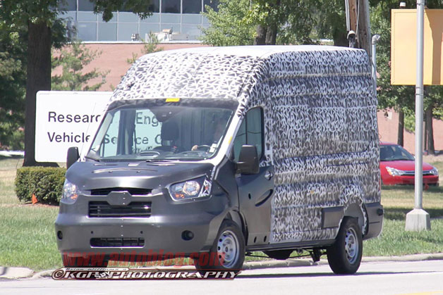 2013 Ford Transit Spy Photos