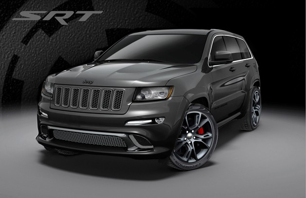 Jeep Grand Cherokee SRT8 gets Alpine and Vapor special editions for