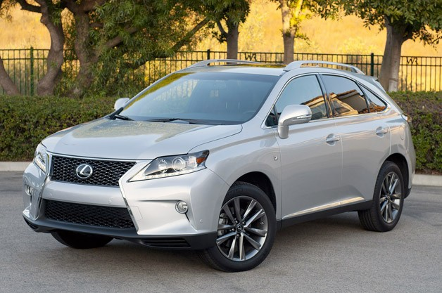 Related Gallery 2013 Lexus RX 350 F Sport: Review