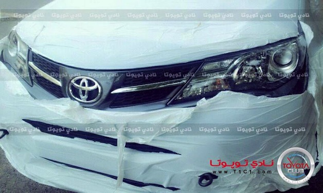 2013 Toyota RAV4 spy shot