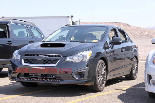 2014 Subaru WRX spy shot