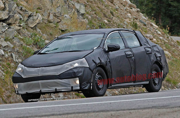 Next-gen 2014 Toyota Corolla caught testing in U.S.
