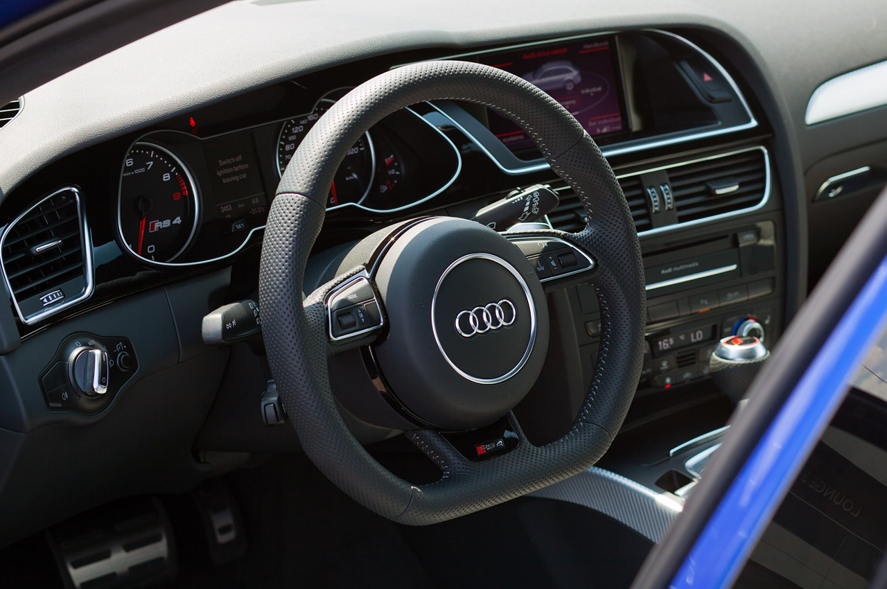 2014 Audi Rs4 Interior Images & Pictures - Becuo