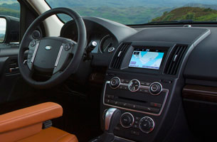 2013 Land Rover LR2 - freshened dashboard