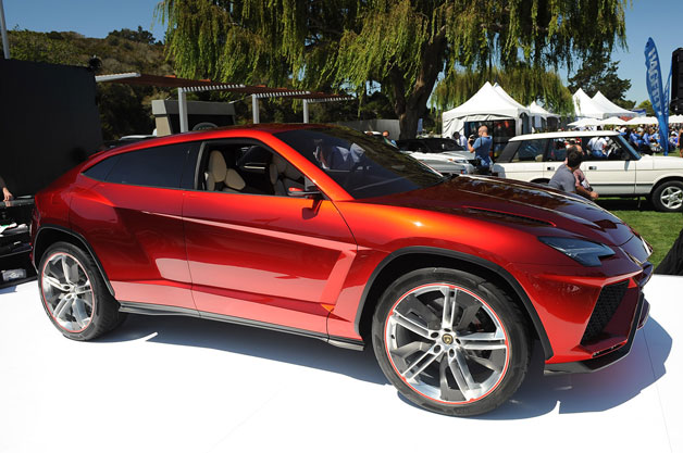Lamborghini Urus concept live at Pebble Beach in 2012
