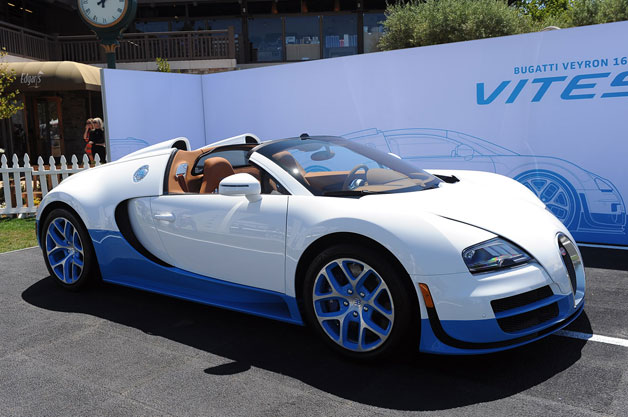 special edition bugatti veyron 16 4 grand sport vitesse sells for 2 5 million. Black Bedroom Furniture Sets. Home Design Ideas
