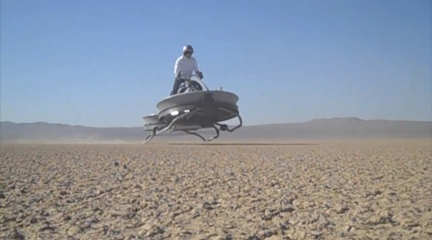 Aerofex hover bike - video screencap