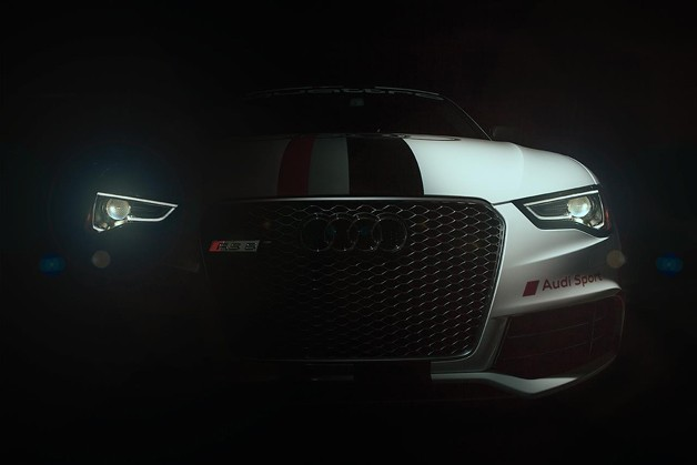 Audi RS5 Pikes Peak Hill Climb car Facebook teaser shot