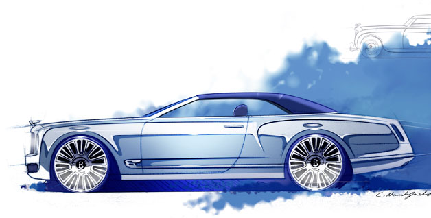 Bentley New Concept Images Under Embargo Until 20 August 2012 At 0001 Gmt 628
