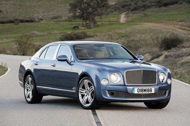 Bentley introspective incursion in to a armored automobile business