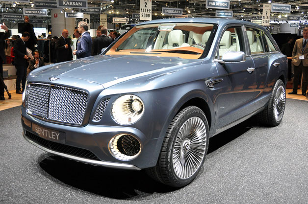 Production Bentley EXP 9 F could get discretionary 3rd quarrel au span seating