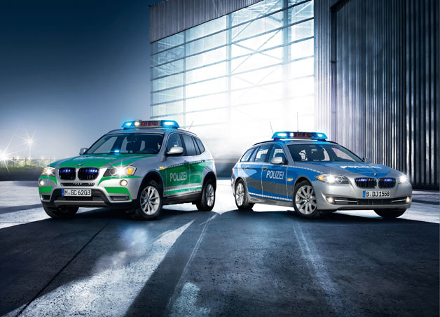 New BMW police vehicles