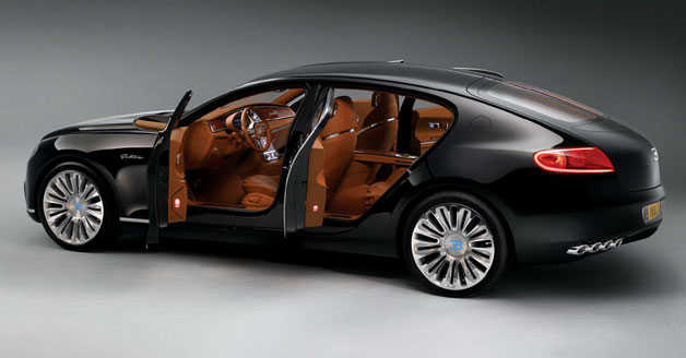 Bugatti 16C Galibier concept - rear three-quarter view, doors open