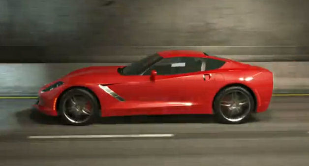 c7corvettevideorender C7 Corvette gets animated in speculative vid