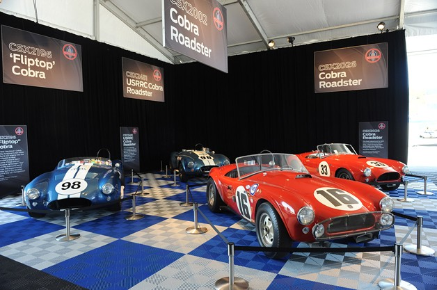 Shelby Cobra Display in Monterey