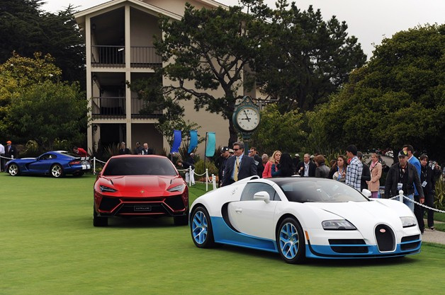 2012 Pebble Beach Concept Car Lawn