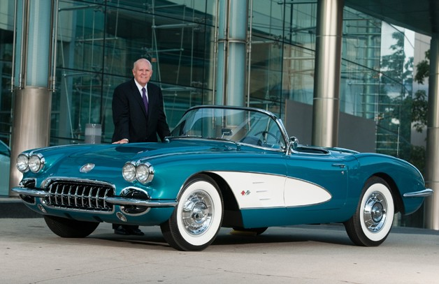 Dan Akerson's 1958 Corvette to cross the auction block for charity