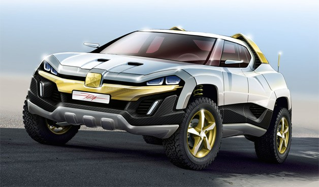 Dartz SAM Nagel Dakkar off-roader rendering