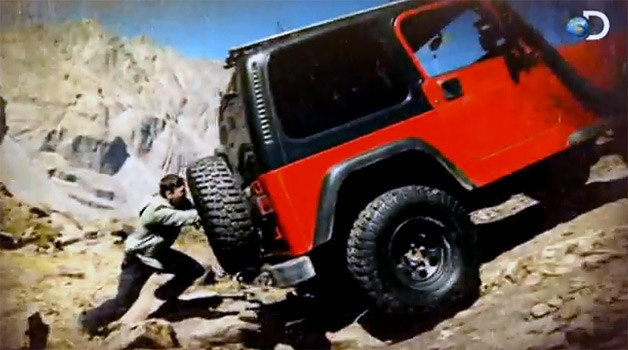 two guys keep rescuing a jeep wrangler in new discovery show jeep cj forums. Black Bedroom Furniture Sets. Home Design Ideas