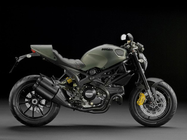 Ducati Monster Diesel special edition - profile studio image