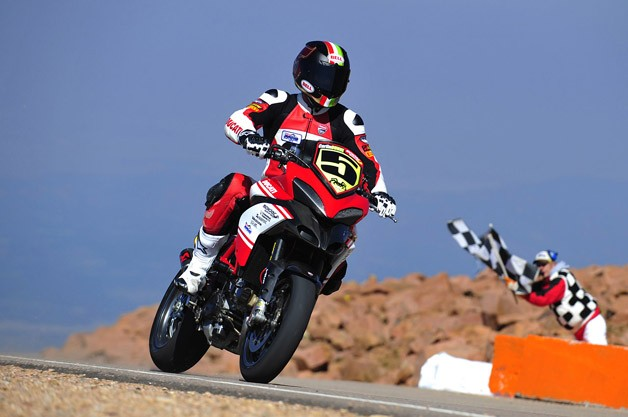 Ducati at 2012 Pikes Peak Hill Climb