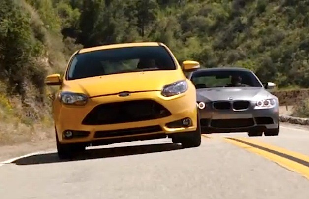 Ford Focus ST vs BMW M3