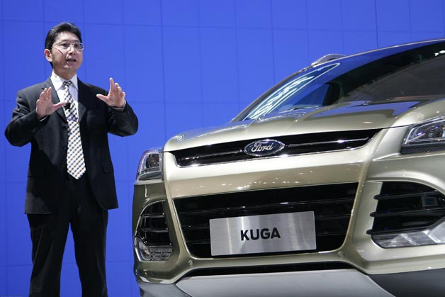 ford kuga and spokesperson in china