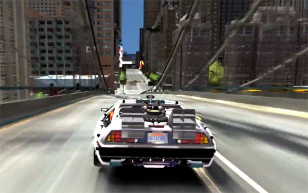 Grand Theft Auto IV Back to the Future Mod