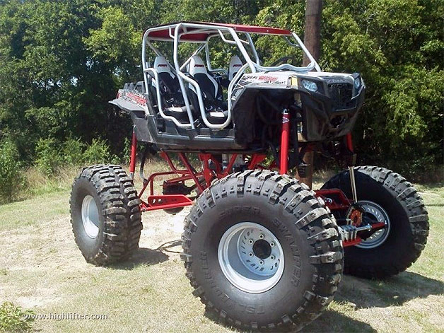 Polaris RZR 4 turned into 640-HP monster truck