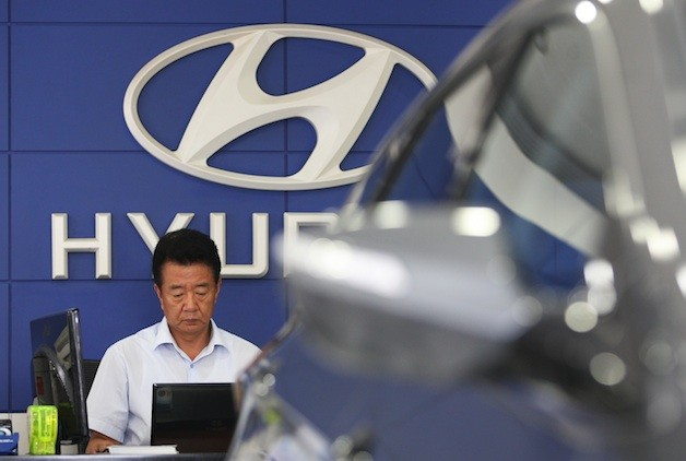 hyundai showroom France requests EU surveil South Korean imports