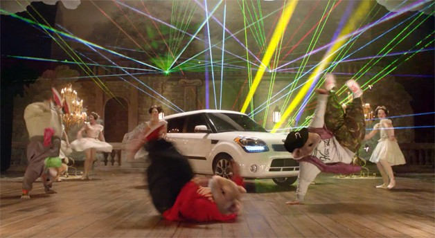 Kia Soul Hamsters Ad 