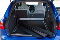 2012 Audi RS4 Avant rear cargo area
