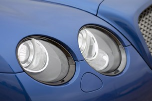 2012 Bentley Continental Supersports Convertible headlights