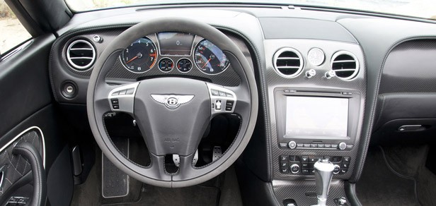 2012 Bentley Continental Supersports Convertible interior