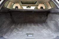 2012 Volvo XC60 R-Design rear cargo area