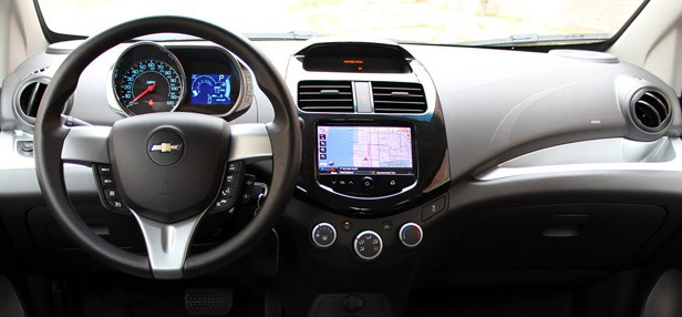 2013 Chevrolet Spark interior