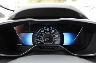 2013 Ford C-Max Hybrid speedometer