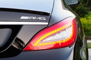 2012 Mercedes-Benz CLS63 AMG taillight
