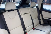 2012 Volvo XC60 R-Design rear seats