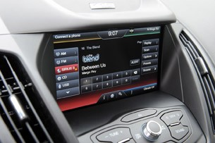 2013 Ford C-Max Hybrid audio system display