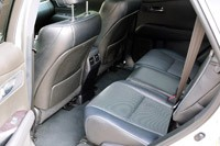 2013 Lexus RX 350 F Sport rear seats