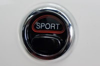 2012 Fiat 500 Abarth sport button