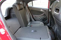2012 Mercedes A-Class rear seats